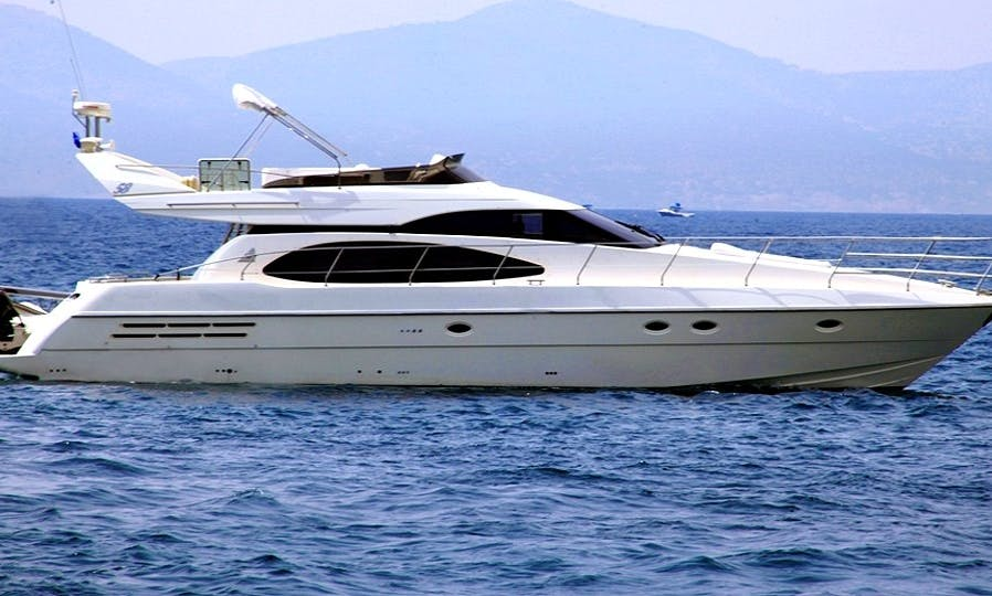 Private and Unforgettable Yachting Holidays in Athens Aboard the Azimut 58 Motor Yacht