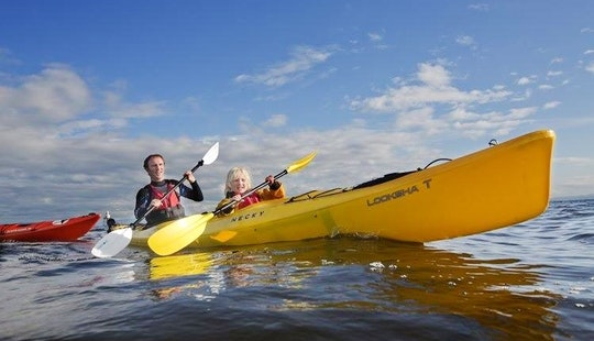 Enjoy The Beauty Of  Donegal, Ireland On A Double Kayak