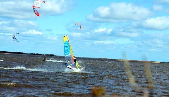 Windsurfing Lessons In Tarm, Denmark
