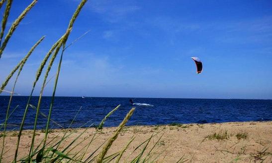 Kitesurfing Lesson In Tarm Denmark