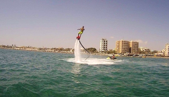 Flyboarding Lessons In Protaras, Cyprus