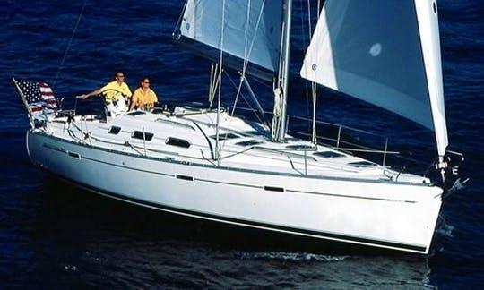 "Charter 40ft ""Nebula"" Beneteau Sailboat In Chicago, Illinois"