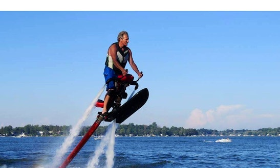 Jetovator Rental And Lessons In Michigan