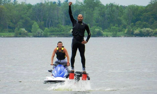Flyboarding In Michigan
