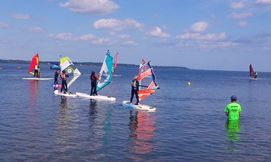 Windsurfing in Rewa, Poland