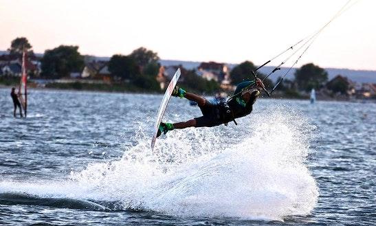 Kiteboarding In Rewa