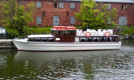 """M / s Okeanos"" Charter Cruises in Helsinki"