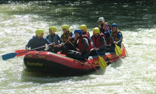 Rafting Trips In Bad Reichenhall, Germany