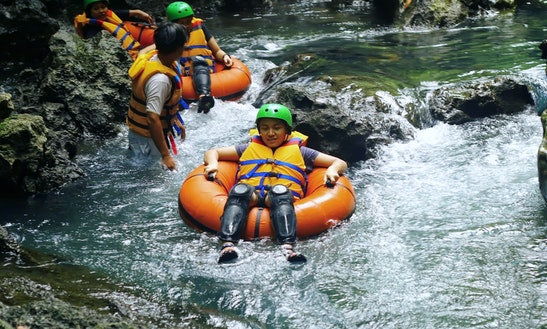 Water Tubing Trips In Cijulang, Indonesia