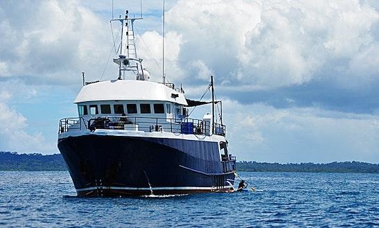 Twin Disc Mg516 Trawler Charter In Bungus Teluk Kabung