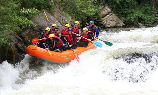 Come Test Yourself Against The White Water Of Our Rivers!