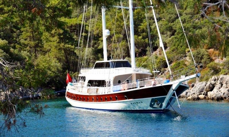 """94' Sailing Gulet """"G0001"""" in Izmir, Turkey"""