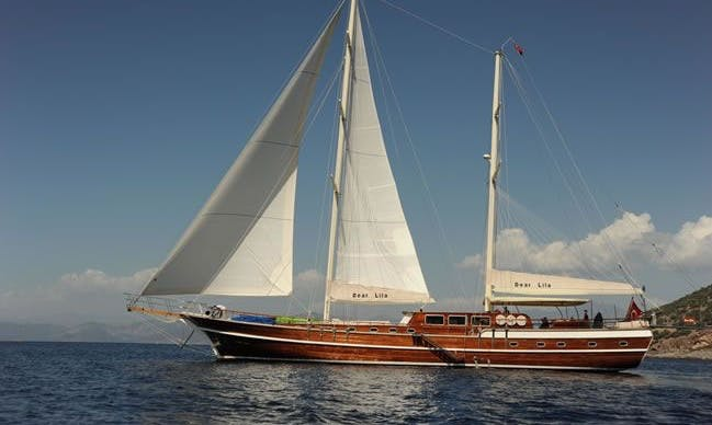 "100' Sailing Gulet ""Dear Lila"" in Izmir, Turkey"