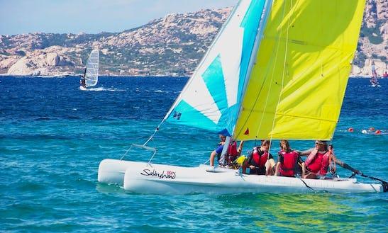 Beach Catamaran Rental And Sailing Lessons In Palau
