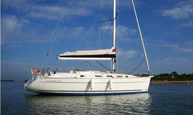 38' Cruising Monohull Charter Rome Lazio, Italy