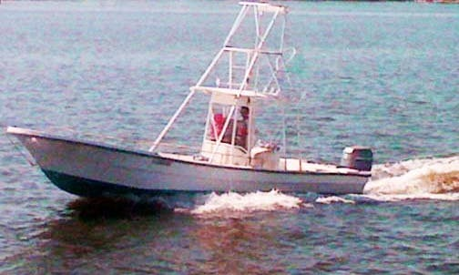 "Enjoy Fishing In Orange Beach, Alabama On 26ft ""Just Cuz"" Panga"