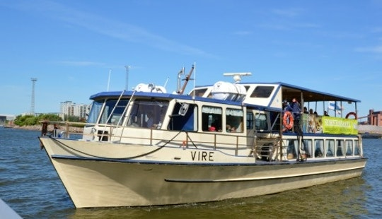 Charter The M/s Vire Boat In Helsinki