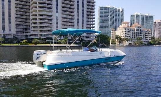 Enjoy 22' Deck Boat For Rent In Hollywood