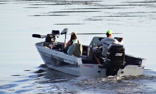 Guided Fishing Trips With Captain Matt On Kingfisher 2025 Bass Boat