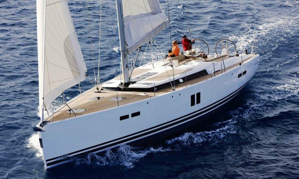 Charter Hanse 540e Cruising Monohull in Procida, Italy