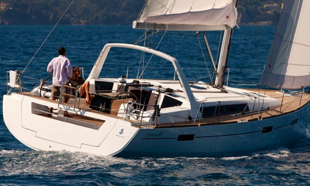 Charter the Oceanis 45 Cruising Monohull in Procida, Italy