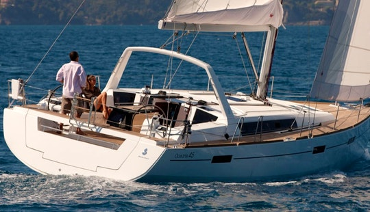 Charter The Oceanis 45 Cruising Monohull In Procida, Italy