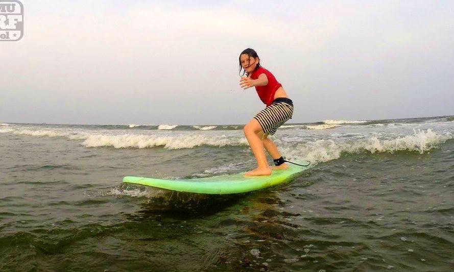 Surf Lessons and Rental in Salavankuppam