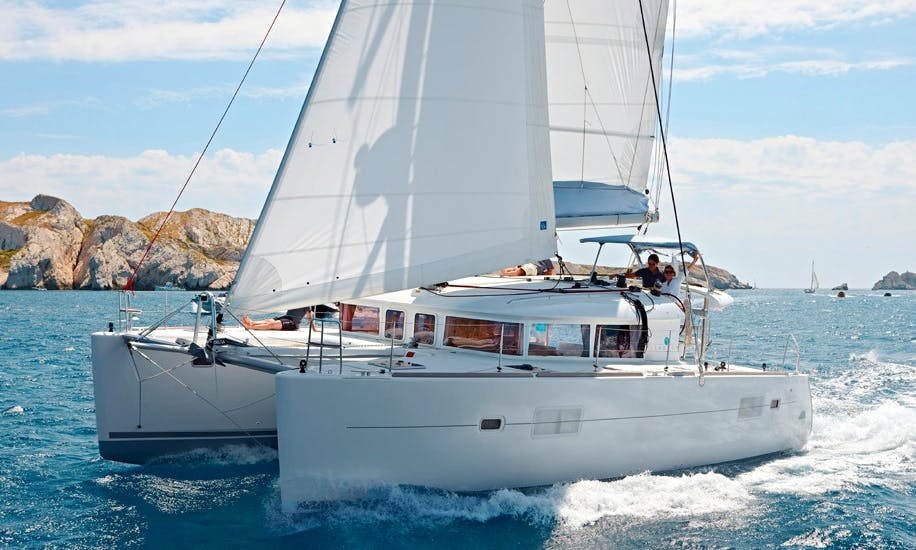 LAGOON 400 Yacht Sailing Lessons in Arnis