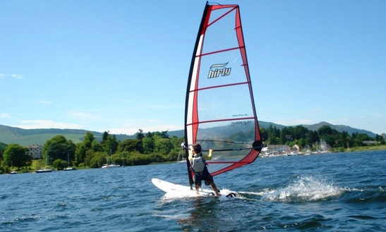 Windsurfing Lessons And Hire In Portinscale