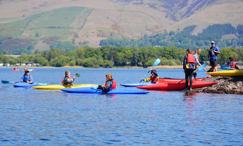 Single Kayak Hire and Courses in Portinscale