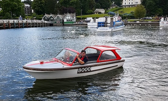 Hire Self Drive Electric Boat In Bowness-on-windermere, England