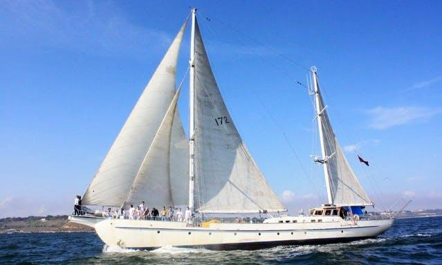 Sailing Yacht Atalanta Hire in Odessa