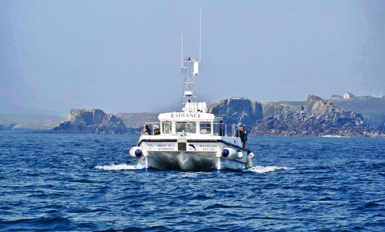 Deep Sea Fishing Charter On 45' Power Catamaran In Cork, Ireland