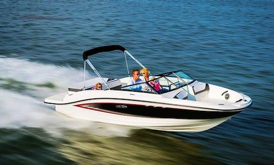 Sea Ray 19 Spx Power Boat Rental In Funtana