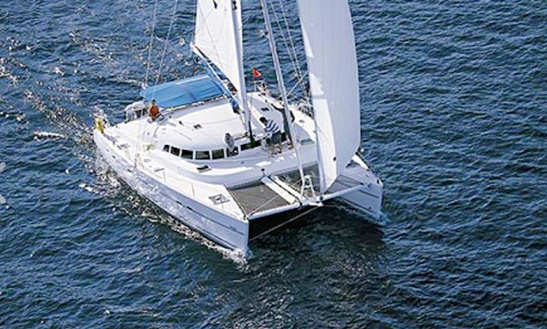 Lagoon 470 Cruising Catamaran Charter In Catania Sicilia, Italy