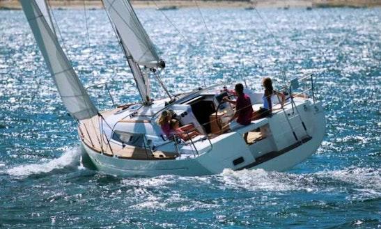 Beneteau Oceanis 37 Cruising Monohull Charter In Catania Sicilia, Italy