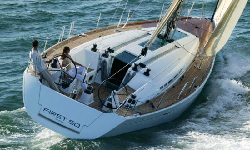 Beneteau First 50 Cruising Monohull Charter in Catania Sicilia, Italy