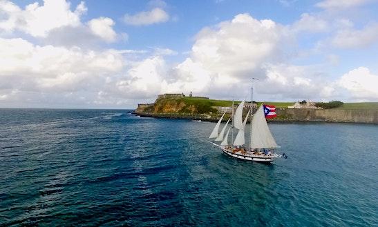 83ft Tall Ship Charter In San Juan, Puerto Rico
