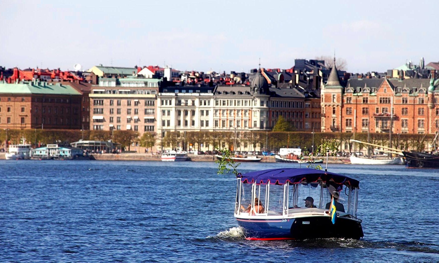 Electric Boat Rental In Stockholm Getmyboat