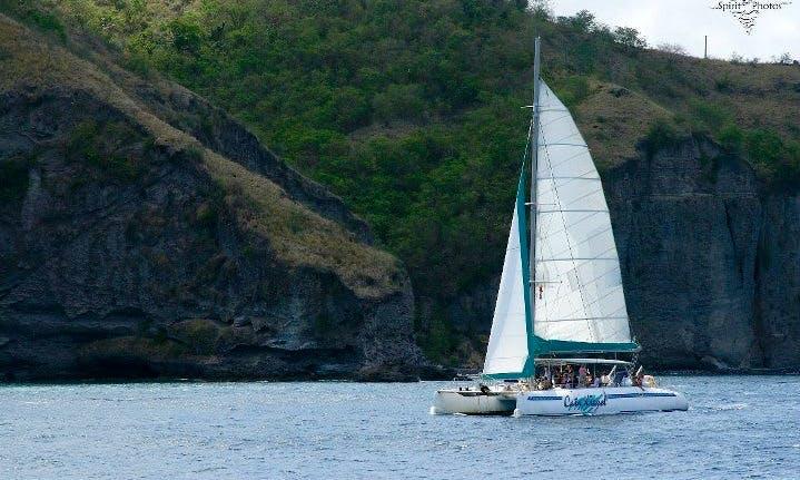 57' Cruising in Les Trois-Îlets, Martinique