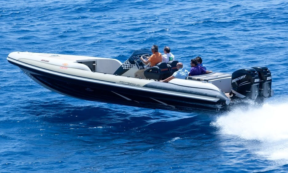 SeaDNA 999 Power Boat Charter in Notios Tomeas Athinon