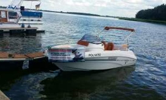 Deck Boat For Rent In Dziwnow