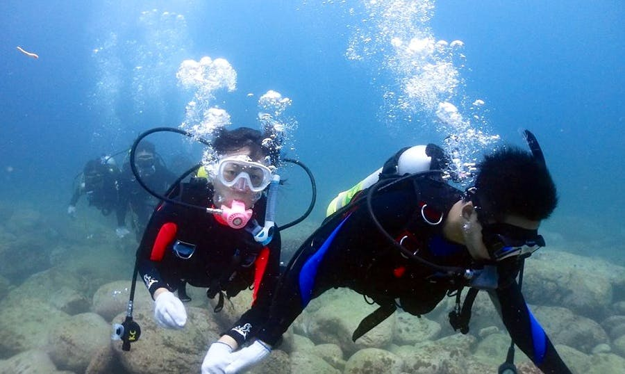 Diving Trips and Courses in Taipei City
