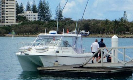 Power Catamaran Fishing Charter In Hobart Tasmania