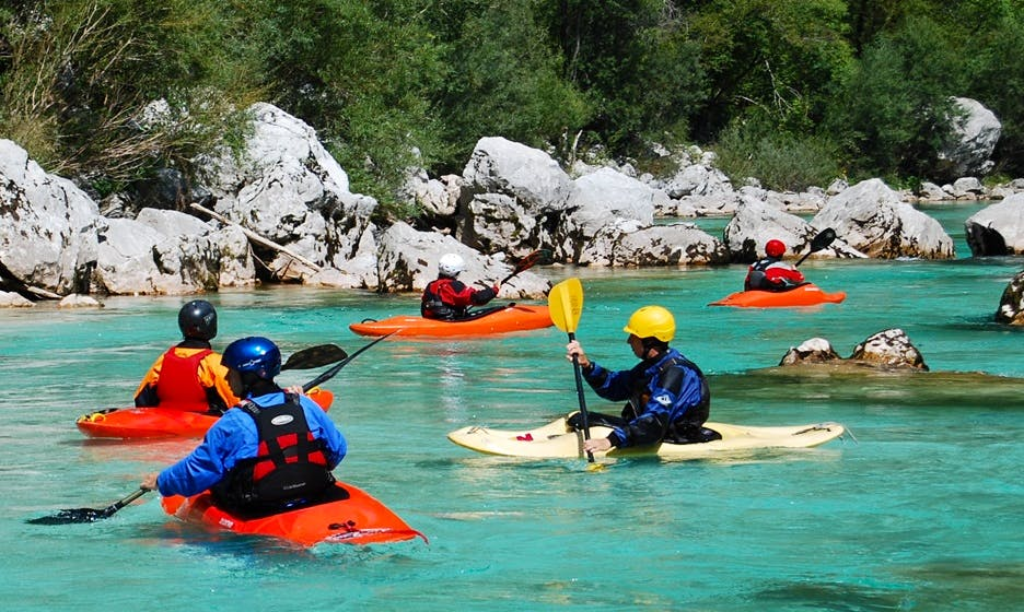 Single Kayak Trip And Lessons in Bovec, Slovenia