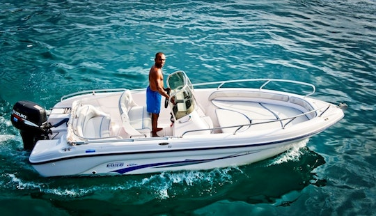 Giulia Speedboat Rental In Ponza