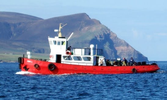 Diving Trips Boat In Stromness, Scotland