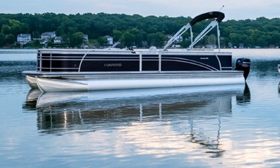 Rent 22' South Bay Pontoon In Wolfeboro, New Hampshire