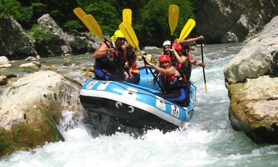 Charter The Best Whitewater River Rafting Trips In Ioannina, Greece
