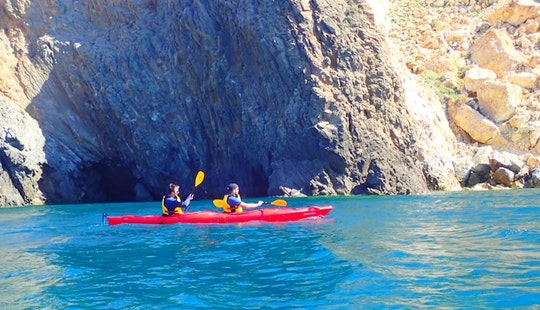 Scenic Sea Kayaking Tour In Santorini, Greece